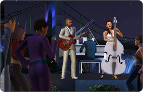 The Sims 3 Late Night - Jazz Band