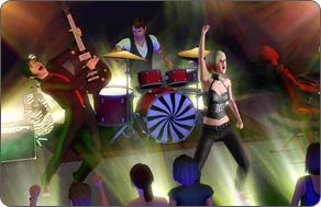 The Sims 3 Late Night - Rock Band